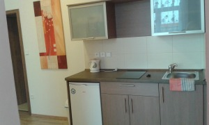 room 202 - kitchenette